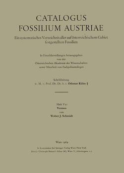 Vermes von Schmidt,  Walter J.