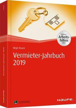 Vermieterwissen 2019 – inkl. Arbeitshilfen online von Noack,  Birgit