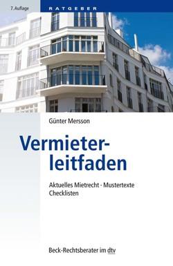 Vermieterleitfaden von Mersson,  Günter
