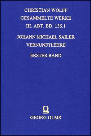 Vernunftlehre von Sailer,  Johann Michael