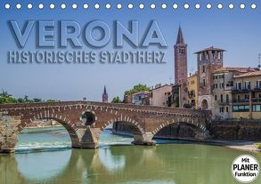 VERONA Historisches Stadtherz (Tischkalender 2018 DIN A5 quer) von Viola,  Melanie