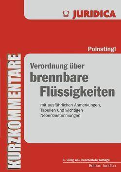 Verordnung über brennbare Flüssigkeiten von Poinstingl,  Gustav