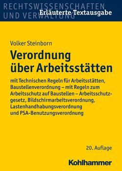 Verordnung über Arbeitsstätten von Steinborn,  Volker