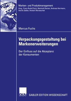 Verpackungsgestaltung bei Markenerweiterungen von Fuchs,  Marcus