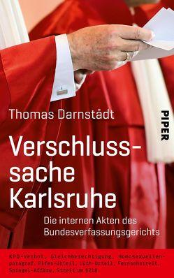 Verschlusssache Karlsruhe von Darnstädt,  Thomas