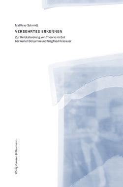Versehrtes Erkennen von Schmidt,  Matthias