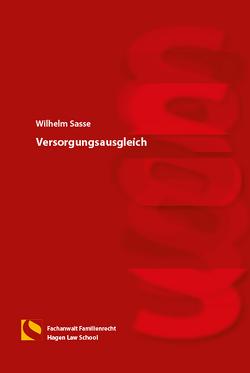 Versorgungsausgleich von Sasse,  Wilhelm