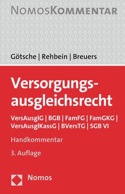 Versorgungsausgleichsrecht von Breuers,  Christian, Götsche,  Frank, Rehbein,  Frank
