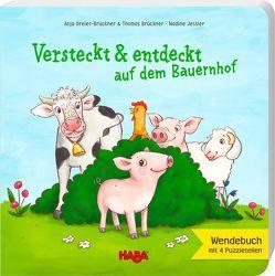 Versteckt und entdeckt auf dem Bauernhof von Brückner,  Thomas, Dreier-Brückner,  Anja, Jessler,  Nadine