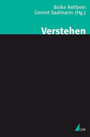 Verstehen von Rehbein,  Boike, Saalmann,  Gernot