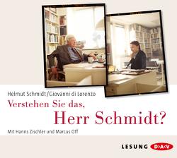 Verstehen Sie das, Herr Schmidt? von DiLorenzo,  Giovanni, Off,  Marcus, Schmidt,  Helmut, Zischler,  Hanns