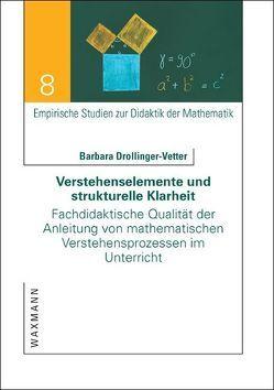 Verstehenselemente und strukturelle Klarheit von Drollinger-Vetter,  Barbara