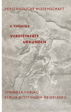 Versteinerte Urkunden von Thenius,  E.