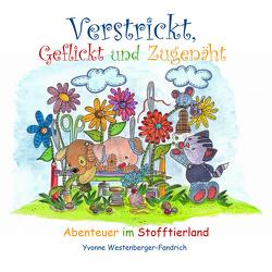 Verstrickt, Geflickt und Zugenäht von Westenberger-Fandrich,  Yvonne