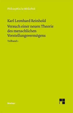 Versuch einer neuen Theorie des Vorstellungsvermögens von Onnasch,  Ernst-Otto, Reinhold,  Karl L