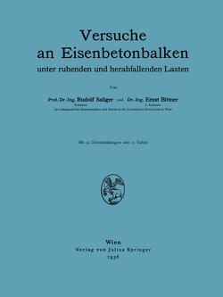 Versuche an Eisenbetonbalken von Bittner,  E., Saliger,  R.