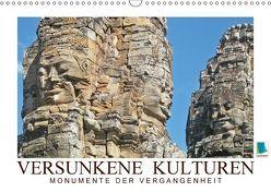 Versunkene Kulturen – Monumente der Vergangenheit (Wandkalender 2018 DIN A3 quer) von CALVENDO,  k.A.