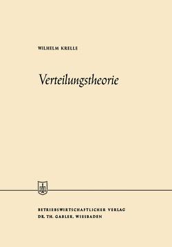 Verteilungstheorie von Krelle,  Wilhelm