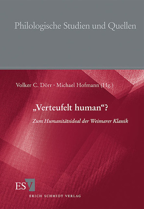 """Verteufelt human""? von Dörr,  Volker C, Eke,  Norbert Otto, Goer,  Charis, Greif,  Stefan, Heinz,  Jutta, Hofmann,  Michael, Koepke,  Wulf, Kost,  Jürgen, Schneider,  Helmut J., Zelle,  Carsten"