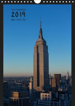 Vertical New York (Wandkalender 2019 DIN A4 hoch) von Freudenstein,  Tom