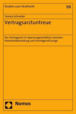 Vertragsarztuntreue von Schneider,  Tamara