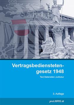 Vertragsbedienstetengesetz 1948 von proLIBRIS VerlagsgesmbH