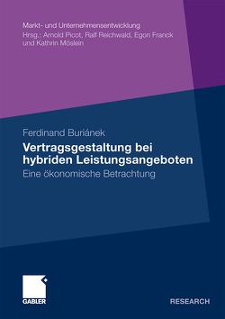 Vertragsgestaltung bei hybriden Leistungsangeboten von Buriánek,  Ferdinand