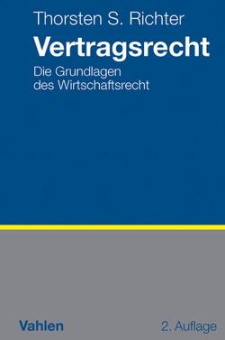Vertragsrecht von Richter,  Thorsten S.