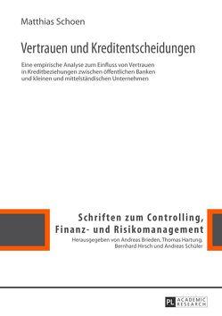 Vertrauen und Kreditentscheidungen von Schoen,  Matthias