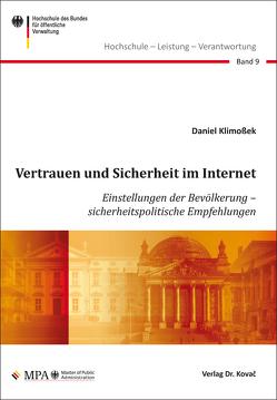 Vertrauen und Sicherheit im Internet von Klimoßek,  Daniel