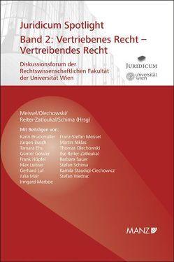 Vertriebenes Recht – Vertreibendes Recht von Meissel,  Franz-Stefan, Olechowski,  Thomas, Reiter-Zatloukal,  Ilse, Schima,  Stefan