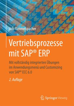 Vertriebsprozesse mit SAP® ERP von Rimmelspacher,  Udo