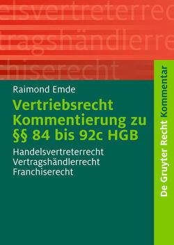 Vertriebsrecht von Emde,  Raimond