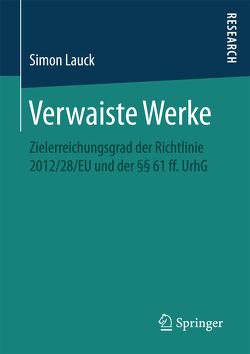 Verwaiste Werke von Lauck,  Simon