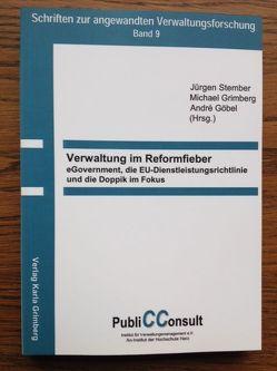 Verwaltung im Reformfieber von Göbel,  André, Grimberg,  Michael, Stember,  Jürgen