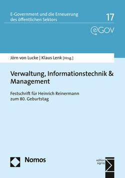 Verwaltung, Informationstechnik & Management von Lenk,  Klaus, Lucke,  Jörn von