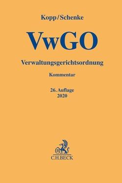 Verwaltungsgerichtsordnung von Hug,  Christian, Kopp,  Ferdinand O., Ruthig,  Josef, Schenke,  Ralf P., Schenke,  Wolf-Rüdiger