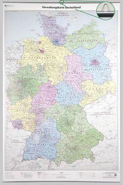 Verwaltungskarte Deutschland 1 : 750 000 von BKG - Bundesamt für Kartographie und Geodäsie