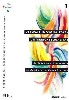Verwaltungsqualität – Unterrichtsqualität von BMUK, Cultuur en Wetenschappen,  Cultuur, Ministerie van Onderwijs,  Ministerie
