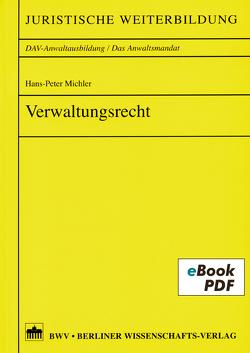 Verwaltungsrecht von Michler,  Hans-Peter