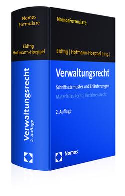 Verwaltungsrecht von Eiding,  Lutz, Hofmann-Hoeppel,  Jochen