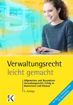 Verwaltungsrecht – leicht gemacht von Hauptmann,  Peter-Helge, Murken,  Claus, Schwind,  Hans-Dieter
