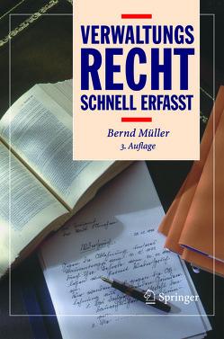 Verwaltungsrecht – Schnell erfasst von Mueller,  Bernd, Zimmermann,  J.