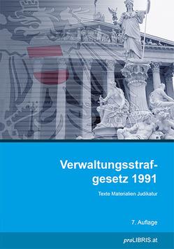 Verwaltungsstrafgesetz 1991 von proLIBRIS VerlagsgesmbH