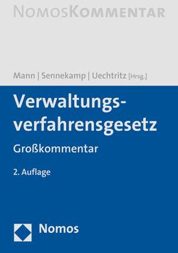 Verwaltungsverfahrensgesetz von Mann,  Thomas, Sennekamp,  Christoph, Uechtritz,  Michael