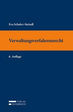 Verwaltungsverfahrensrecht von Schulev-Steindl,  Eva