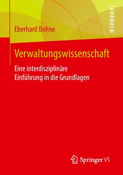 Verwaltungswissenschaft von Bohne,  Eberhard