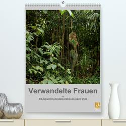 Verwandelte Frauen – Bodypainting-Metamorphosen nach Ovid (Premium, hochwertiger DIN A2 Wandkalender 2020, Kunstdruck in Hochglanz) von fru.ch