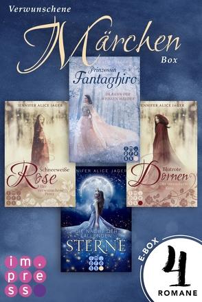 Verwunschene Märchen-Box: Vier Märchen-Romane von Jennifer Alice Jager in einer E-Box! von Jager,  Jennifer Alice