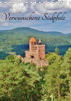 Verwunschene Südpfalz (Tischkalender 2019 DIN A5 hoch) von Janke,  Andrea